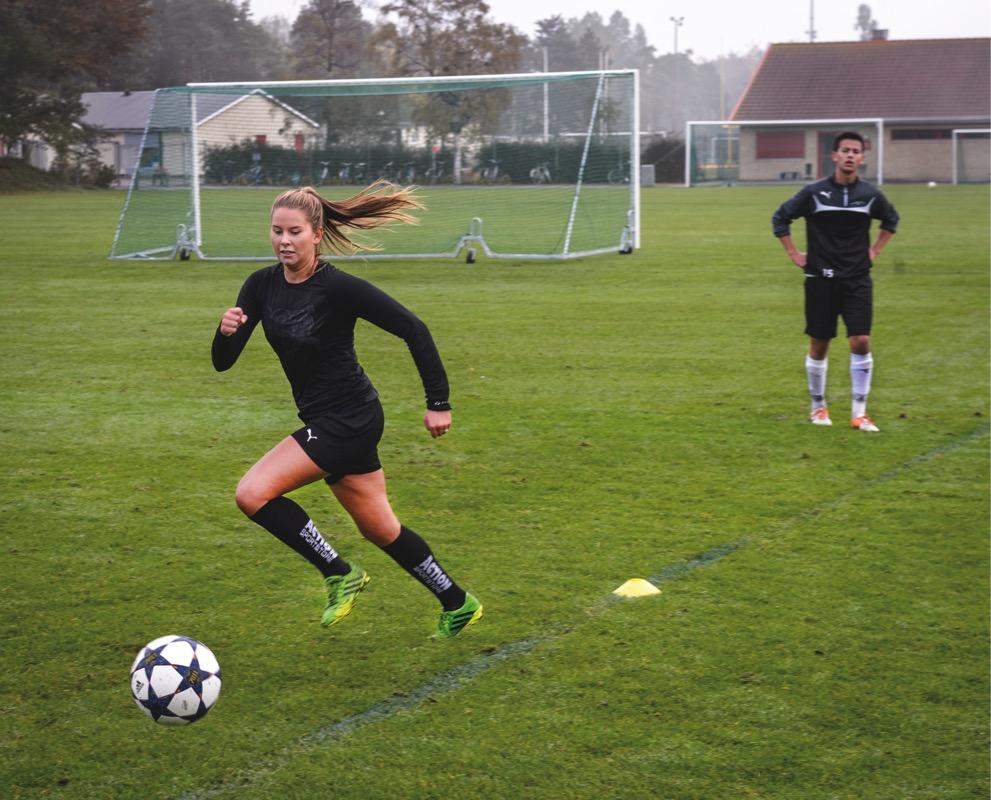 Fotboll med Nationell Idrottsutbildning