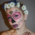 HVSTY stylist makeup sugar skull