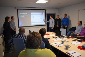 T4 presentera projekt BLS Industries AB
