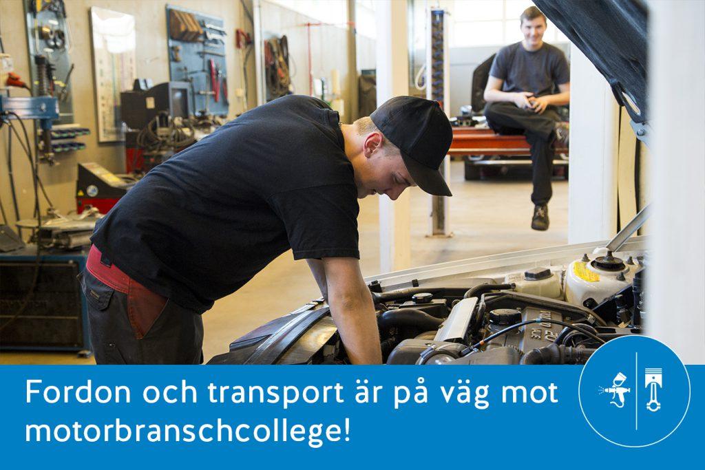 motorbranschcollege FT Ystad Gymnasium