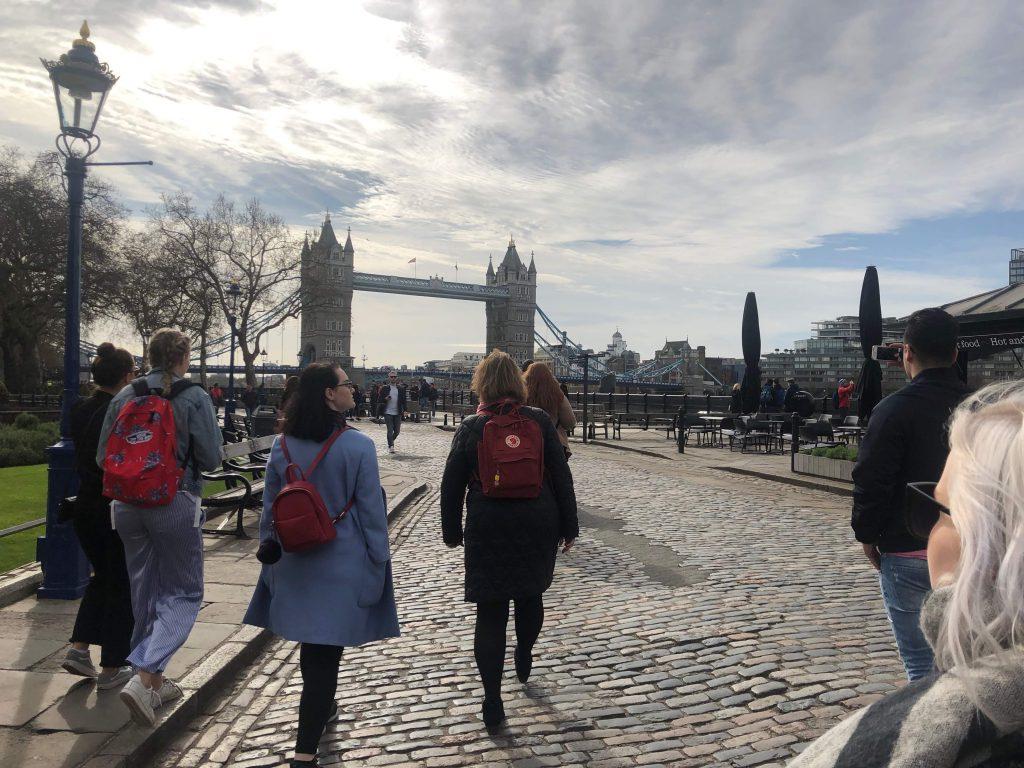 Samhälle på studiebesök i London