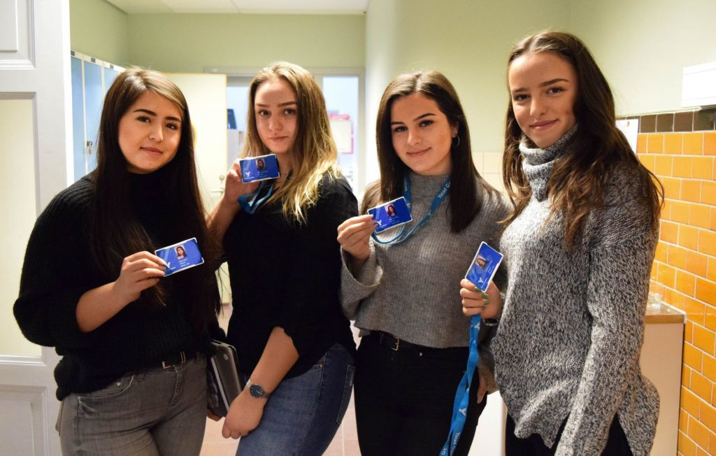 ID-kort på Ystad Gymnasium