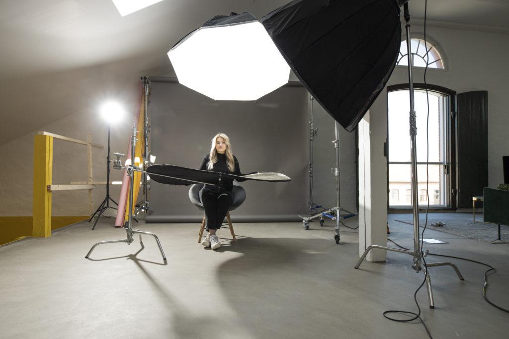 Kinga Umecka har alltid gillat att fotografera Ystad Gymnasium Estetiska programmet