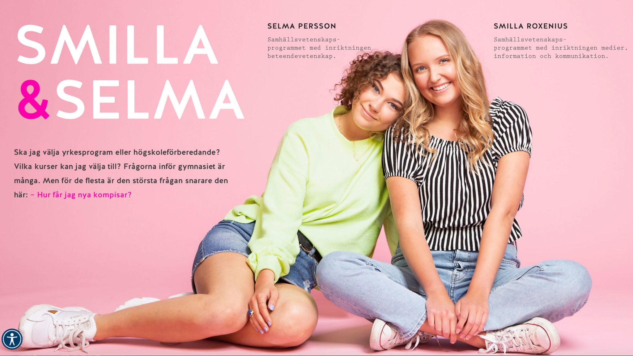artikel-om-Smilla-och-Selma-på-Ystad-Gymnasium